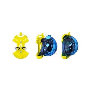 Helm und Brillenhalter