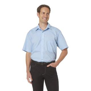 Herrenhemd stretch kurzarm