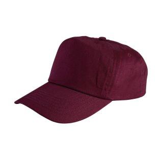 Cap mit Klettverschluss farbig