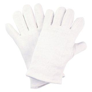 Baumwoll- Trikot weiß, gebleicht VPE 300