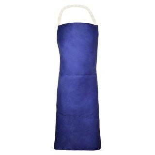 Segeltuchschürze, blau, 80 x 100 cm