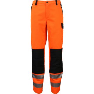 Trendline Bundhose orange/schwarz