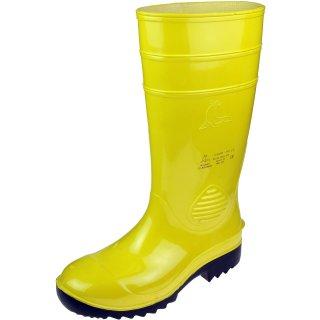 PVC-Sicherheitsstiefel S5 gelb