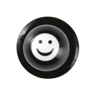 58 Smiley schwarz